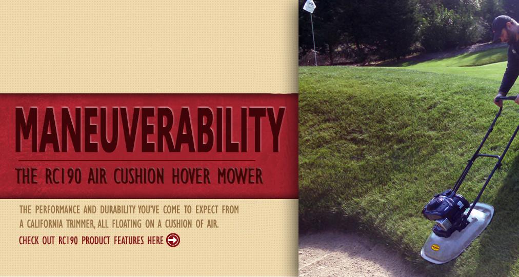RC190 Air Cushion Hover Mower