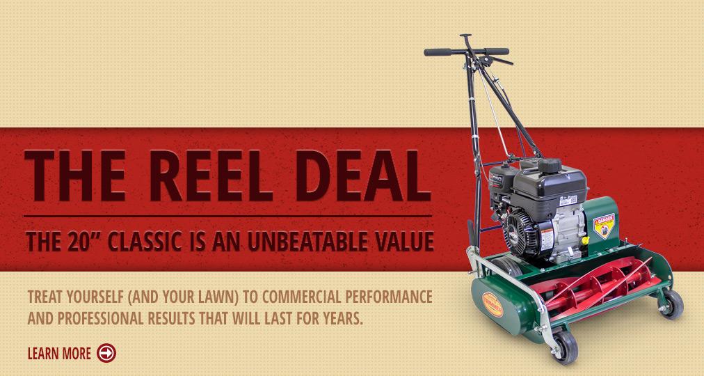 The 20″ Classic Reel Mower